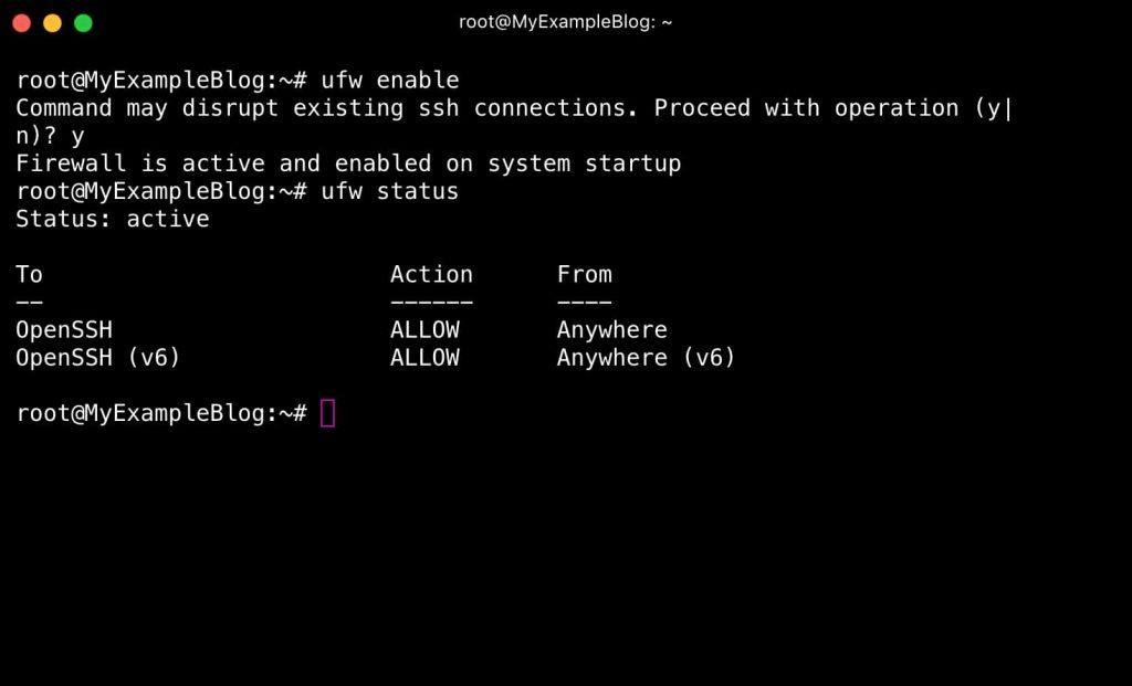 Check Your Firewall Status on Ubuntu