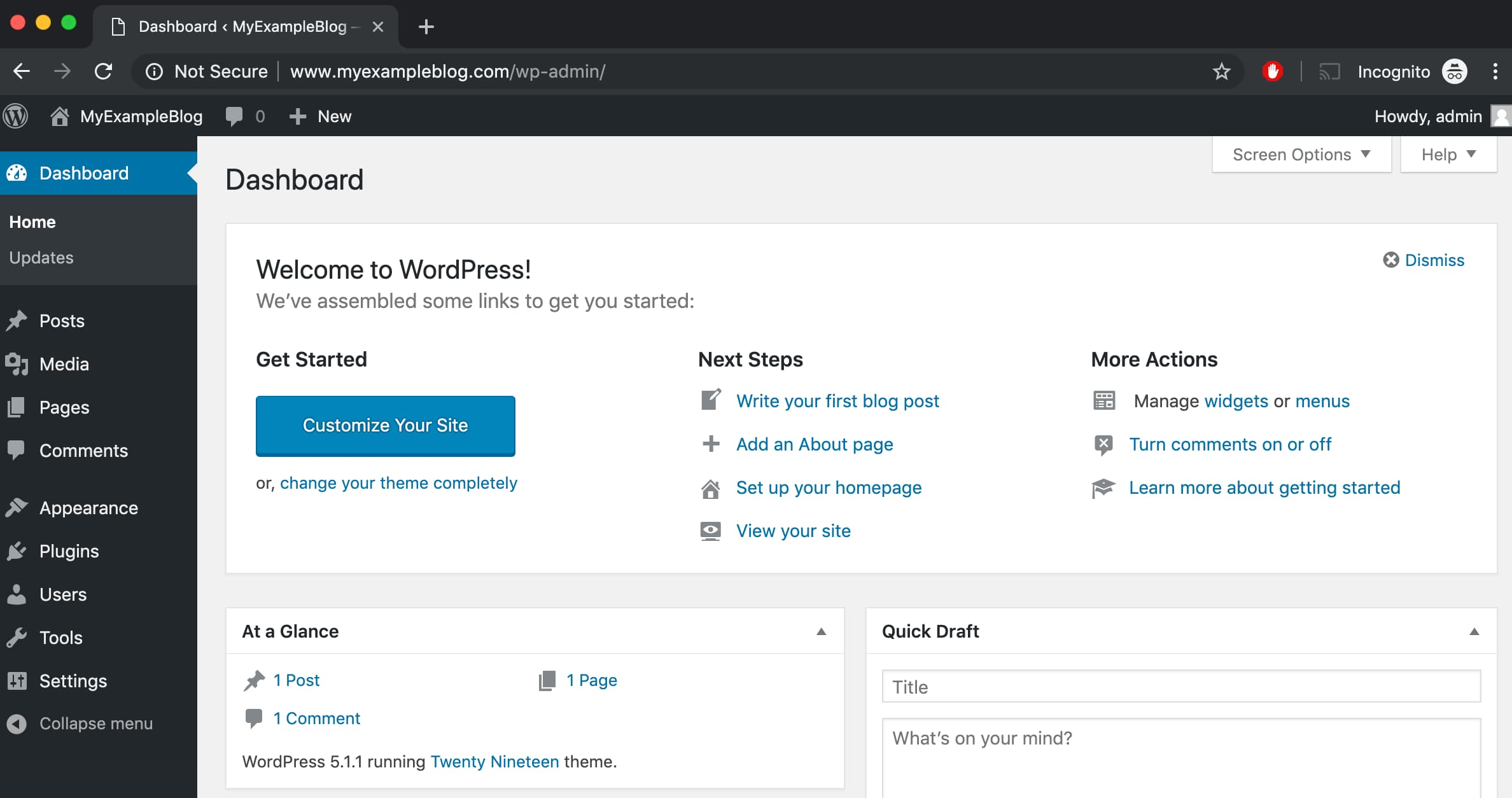 WordPress URL Changed after Site Address change