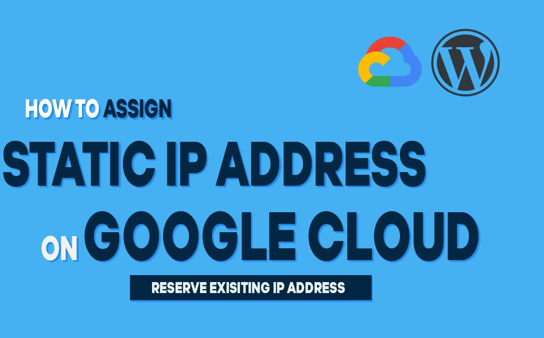 how to assign static ip address in google cloud