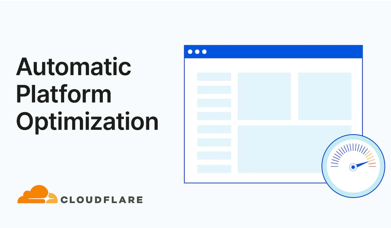 Cloudflare Automatic Platform Optimization (APO)